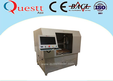Deep 50W CNC Auto 3 Axis Laser Marking Engraving Machine With Big Table Customized Jig